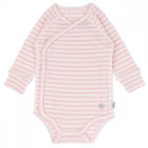 Bilde av LL Wrap ullbody mini rosa striper