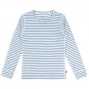 Bilde av LL Ull topp lyseblå striper