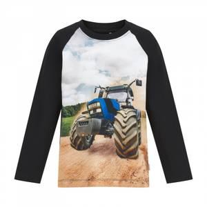 Bilde av MY Traktor topp svart/blå