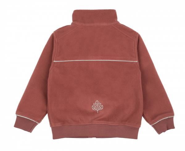 GK Timotei vindtett fleece jakke støvrosa