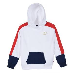 Bilde av Levi`s hoodie hvit gull logo 10-16 år