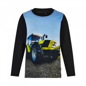 Bilde av MY Traktor topp svart/gul tap shoe