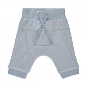 Bilde av Fx velour bukse baby blue