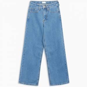 Bilde av Grunt wide leg jeans authentic blue
